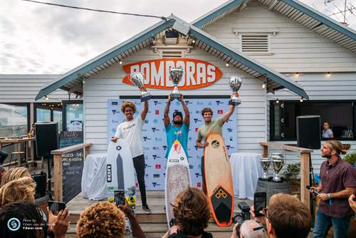 The world champion kite surfers crowned at Bomboras in Torquay