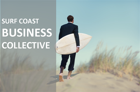 Surf Coast Business Collective newsletter header image