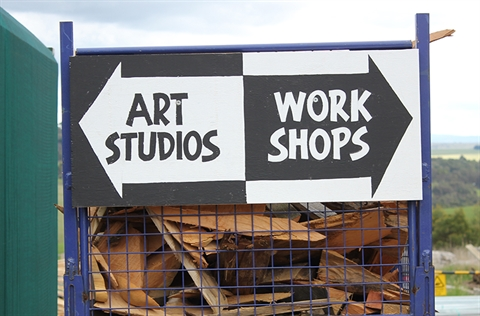 Studio/Workshop signs