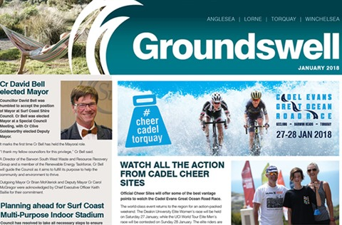 Cover of Groundswell newsletter